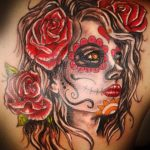 tatuajes catrinas rosas tattoo 6 150x150
