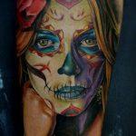 tatuajes catrinas rosas tattoo 7 150x150