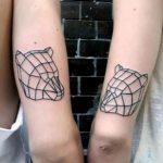tatuajes de animales geometricos 11 150x150