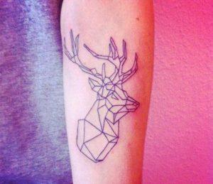 tatuajes de animales geometricos 12 300x259