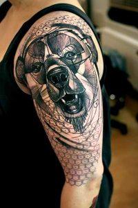 tatuajes de animales geometricos 14 200x300