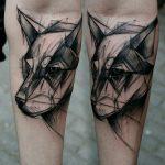 tatuajes de animales geometricos 2 150x150