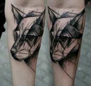 tatuajes de animales geometricos 2 300x284