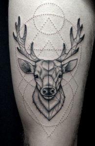 tatuajes de animales geometricos 3 195x300