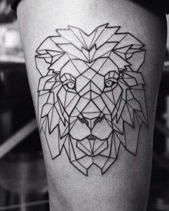 tatuajes de animales geometricos 5 241x300