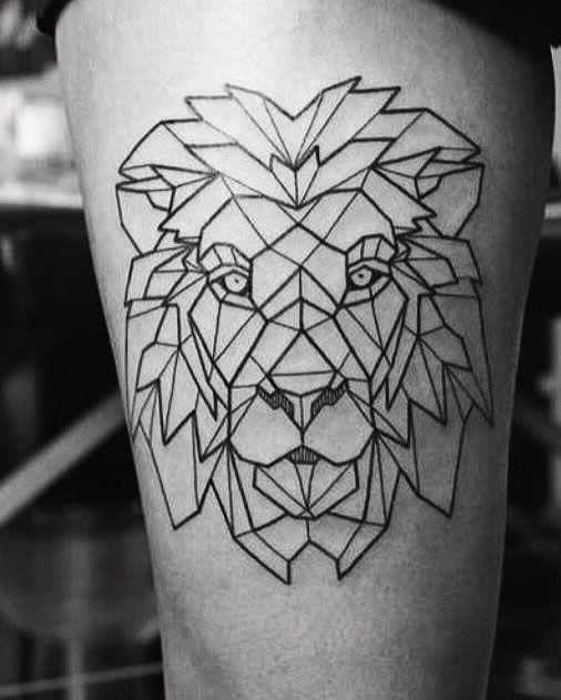 tatuajes de animales geometricos 5 150x150