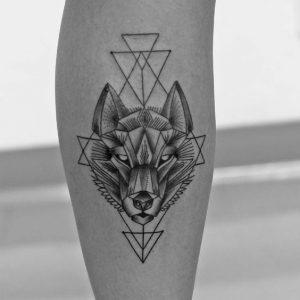 tatuajes de animales geometricos 6 300x300