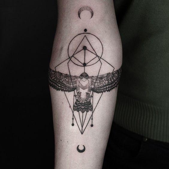 tatuajes de animales geometricos 9 150x150
