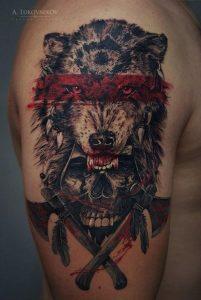tatuajes de animales para hombres 11 201x300