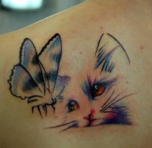 tatuajes de animales tiernos 5 300x293
