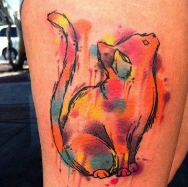 tatuajes-de-gatos-acuarela-nueva-escuela-1