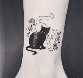 tatuajes-de-gatos-en-la-muneca-gatitos-18