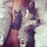 tatuajes de gatos en la muñeca gatitos 5 150x150