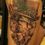 tatuajes de gatos para hombres felinos 3 150x150