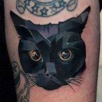 tatuajes de gatos para hombres felinos 4 150x150