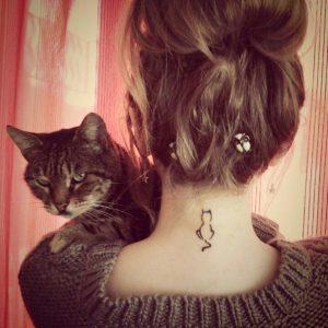tatuajes de gatos para mujeres mascotas 11 300x300