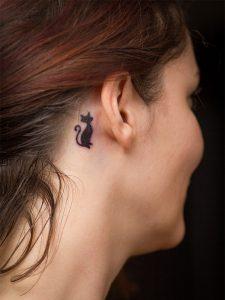 tatuajes de gatos para mujeres mascotas 14 225x300