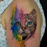 tatuajes de gatos para mujeres mascotas 21 150x150