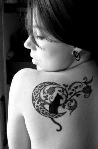 tatuajes de gatos para mujeres mascotas 8 198x300
