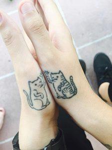 tatuajes de gatos pequeños mascotas felinos 10 225x300