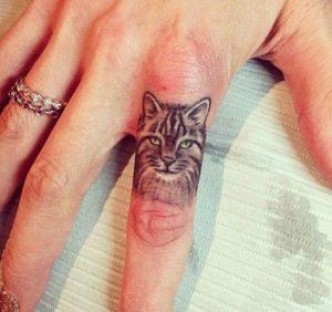 tatuajes de gatos pequeños mascotas felinos 11 300x282