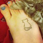 tatuajes de gatos pequeños mascotas felinos 16 150x150