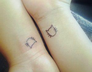 tatuajes de gatos pequeños mascotas felinos 24 300x235