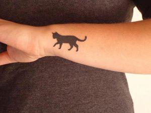tatuajes de gatos pequeños mascotas felinos 6 300x225