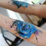 tatuajes de rosas azules 2 150x150