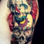 tatuajes de rosas con caravelas 2 150x150