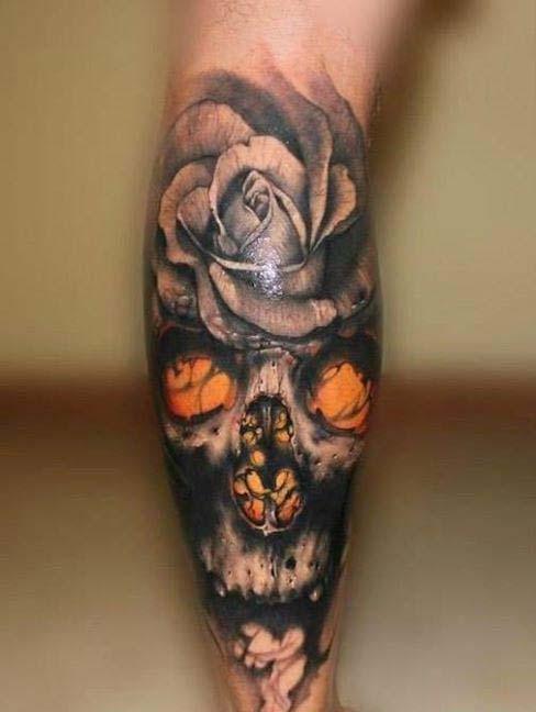 tatuajes de rosas con caravelas 4 - tatuajes de rosas