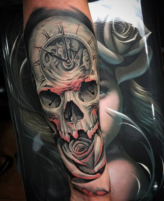 tatuajes de rosas con caravelas 5 - tatuajes de rosas