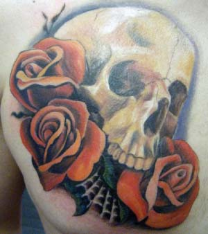 tatuajes de rosas con caravelas 6 - tatuajes de rosas