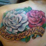 tatuajes de rosas en el hombro 2 150x150