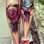 tatuajes de rosas para hombres 4 150x150