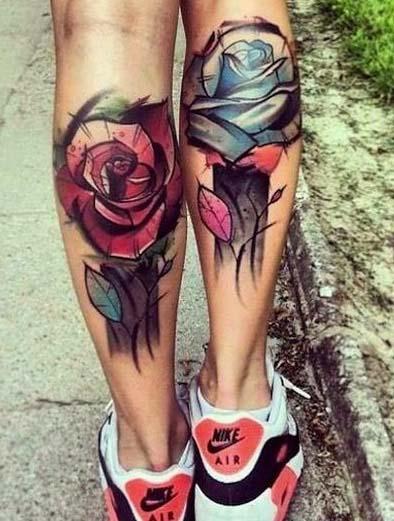 tatuajes de rosas para hombres 4 - tatuajes de rosas