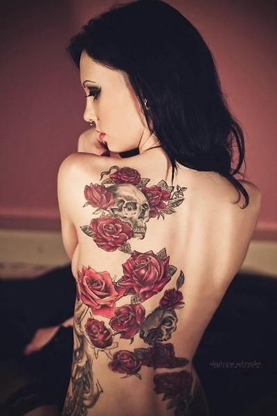 tatuajes de rosas para mujeres 1 - tatuajes de rosas