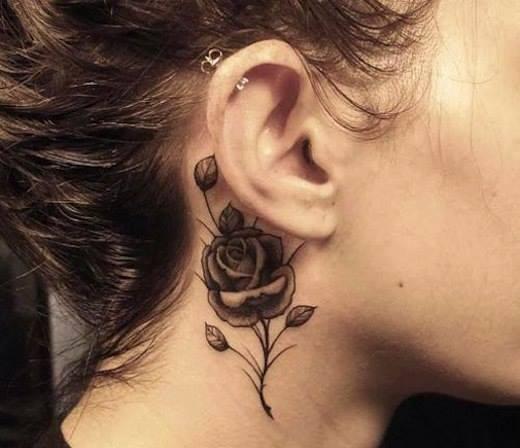 tatuajes de rosas para mujeres 3 - tatuajes de rosas