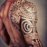 tatuajes maories en el brazo polinesios tattoo 11 150x150