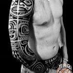 tatuajes maories en el brazo polinesios tattoo 2 150x150