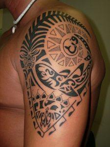 tatuajes maories en el brazo polinesios tattoo 5 225x300