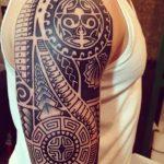 tatuajes maories en el brazo polinesios tattoo 9 150x150