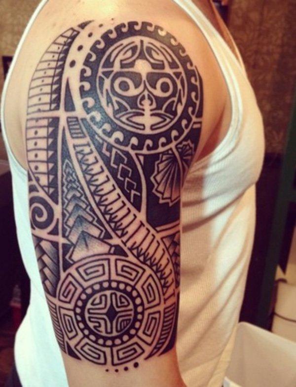tatuajes maories en el brazo polinesios tattoo 9 - tatuajes maories