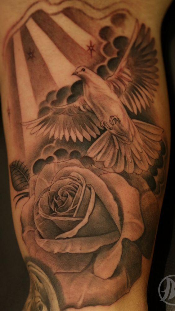 tatuajes palomas imagenes fotos 6 - tatuajes de palomas