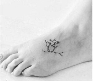 tatuajes pequeños buhos 3 300x262