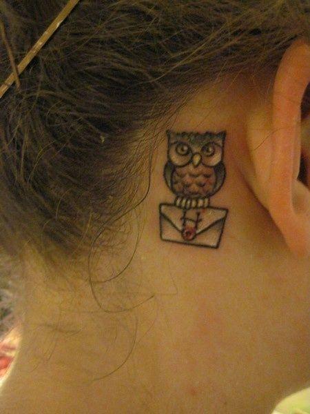 tatuajes pequeños buhos 7 - tatuajes de búhos
