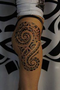 tatuajes polinesios mujeres maories 4 201x300
