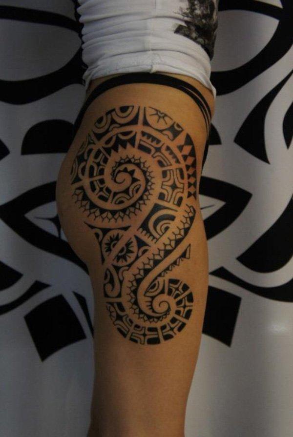 tatuajes polinesios mujeres maories 4 - tatuajes maories
