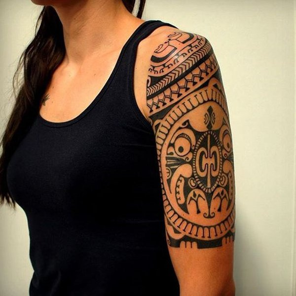 tatuajes polinesios mujeres maories 6 - tatuajes maories