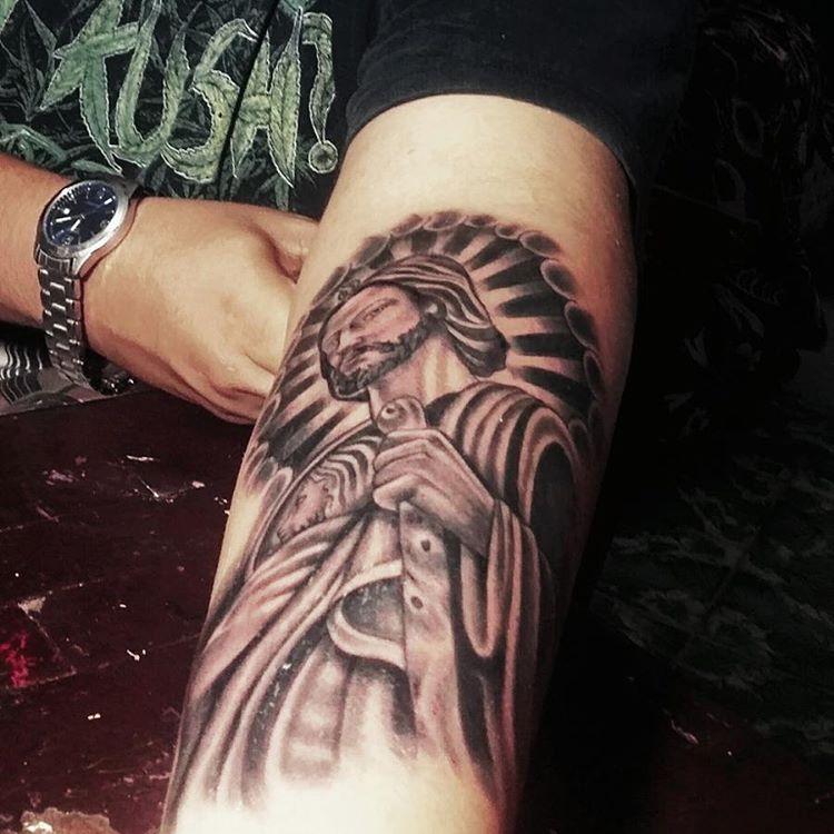 tatuajes sa judas tadeo 3 - tatuajes de san judas